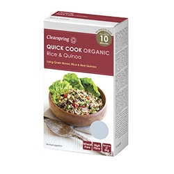 Clearspring Quick Cook Organic Rice & Quin 250g