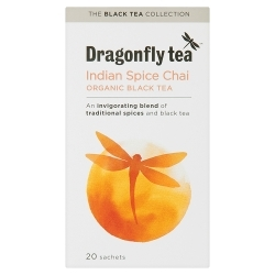 Dragonfly Tea Indian Spice Chai Tea 20 sachet