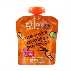 Ellas Kitchen S1 Carrots Apples & Parsnips 120g