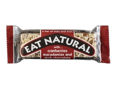 Eat Natural Cranberry Macadamia & Choc Bar 45g