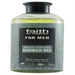 Faith in Nature Blue Cedar Body 400ml