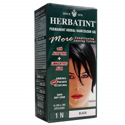 Herbatint Black Hair Colour 1N 150ml