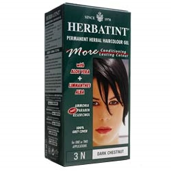 Herbatint Dark Chestnut Hair Colour 3N 150ml