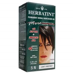 Herbatint Light Chestnut Hair Colour 5N 150ml