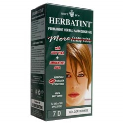 Herbatint Golden Blonde Hair Colour 7D 150ml