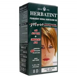 Herbatint LightGolden Blonde Hair Col 8D 150ml