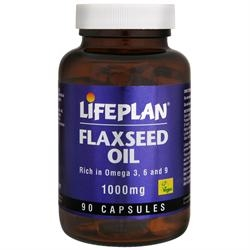 Lifeplan Flaxseed Oil Capsules 90 capsule