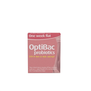 Optibac Probiotics One Week Flat (Flat Stomach) 7 sachet