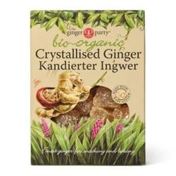The Ginger People Organic Crystallised Ginger 84g
