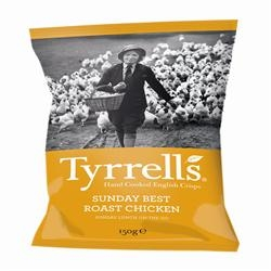 Tyrrells Sunday Best Roast Chick Crisps 150g
