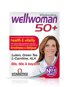 Vitabiotics Wellwoman 50+ 30 tablet