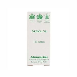 Ainsworths Arnica 30C Homoeopathic Remedy 120 tablet