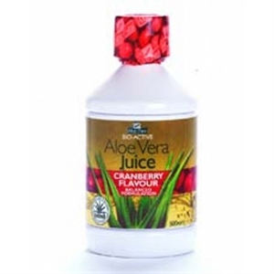 Aloe Pura Aloe Vera Juice Cranberry 500ml