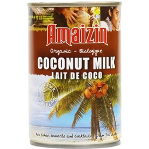 Amaizin Org Coconut Milk Tin 400ml
