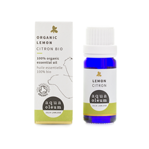 Aqua Oleum Organic Lemon Oil 10ml