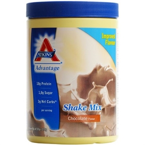 Atkins Advantage Choc Shake Mix 10 servings