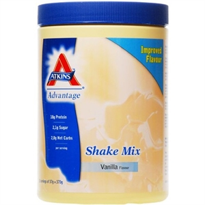 Atkins Advantage Vanilla Shake Mix 10 servings