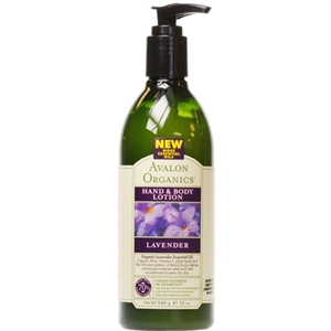 Avalon Lavender Hand & Body Lotion 350ml