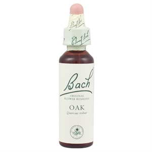 Bach Original Flower Remedies Oak 20ml