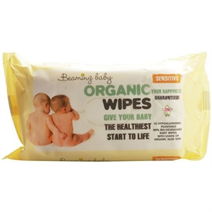 Beaming Baby Org Baby Wipes 72 Wipespack