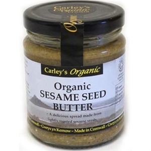 Carley's Org Sesame Seed Butter 250g