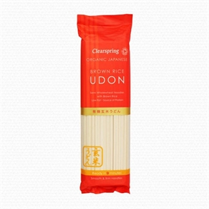 Clearspring OG Brown Rice Udon Noodles 200g