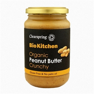 Clearspring Org Peanut Butter Crunchy 350g