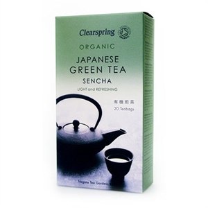 Clearspring Organic Green Tea Sencha 20bag