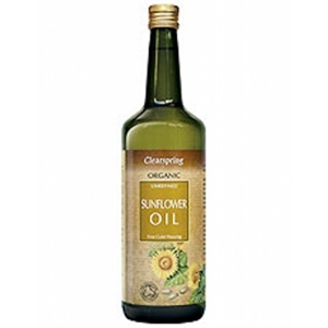 Clearspring Organic Sunflower Oil 1000ml