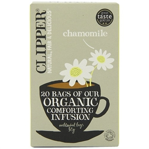 Clipper Ft Org Chamomile Envelopes 250bag