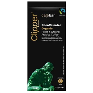 Clipper Ft Org Decaf R&G Coffee 227g