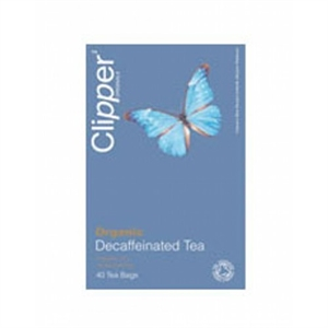 Clipper Organic Decaffeinated Tea 40bag