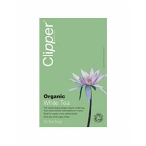 Clipper Organic White Tea 26bag