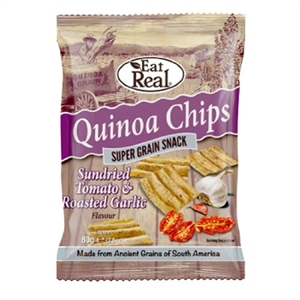 Cofresh Eat Real Quinoa Tom Garlc Chip 80g