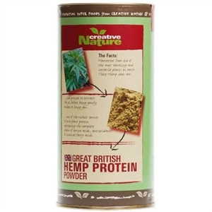 Creative Nature British Hemp Protein Powder 300g