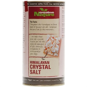 Creative Nature Pink Himalayan Crystal Salt 300g