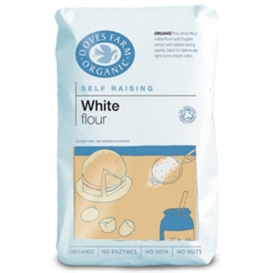 Doves Farm Org Self Raising White Flour 1000g