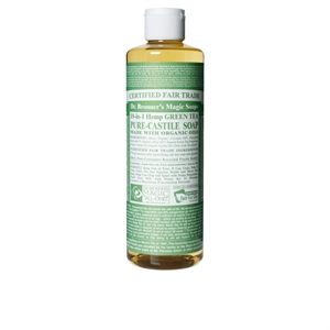 Dr Bronner Org Green Tea Castile Liq Soap 473ml