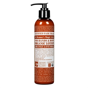 Dr Bronner Orange Lavender Lotion 236ml