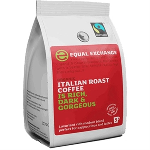 Equal Exchange Org F/T Italian Grd Coffee 227g