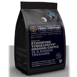 Equal Exchange Ethiopian Yirgecheffe Coffee 227g