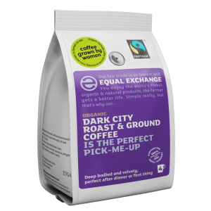 Equal Exchange Org FT Dark Roast Coffee Beans 227g