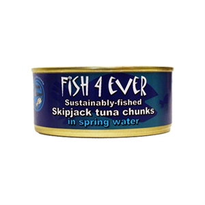 Fish4Ever Skipjack Tuna Chunks in Spring 160g