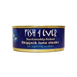 Fish4Ever Tuna Steaks in Spring Water 160g