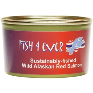 Fish4Ever Wild Pacific Red Salmon 213g