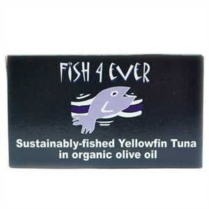 Fish4Ever Yellowfin Tuna in Brine 120g