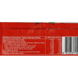 Frutina Strawberry & Apple Fruit Bar 15g