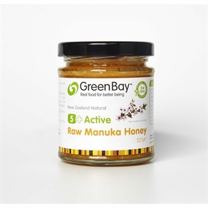 GreenBay Harvest Raw Active 5+ Manuka Honey 227g