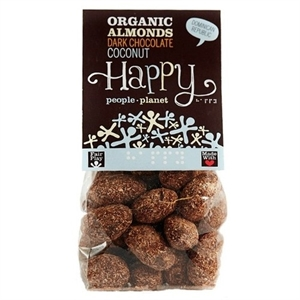 Happy People Org FT Almonds D. Choc Coconut 120g