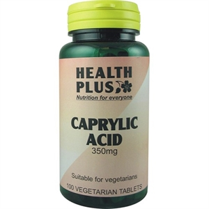 Health Plus Caprylic Acid 350mg 100 tablet